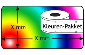 Seiko compatible SLP-2RL KleurenPakket, 6 rollen