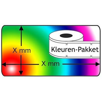 Dymo compatible 99010 KleurenPakket, 6 rollen