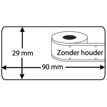 Compatible DK-11201 labels Brother