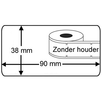 Compatible DK-11208 labels Brother