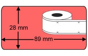 Seiko SLP-2RL compatible Labels, 260 Labels per rol, rood